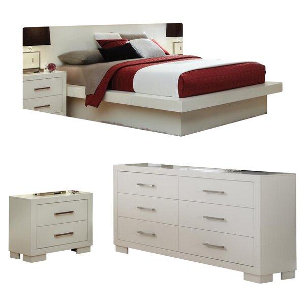 Hammes California King Platform Configurable Bedroom Set by Ebern Designs