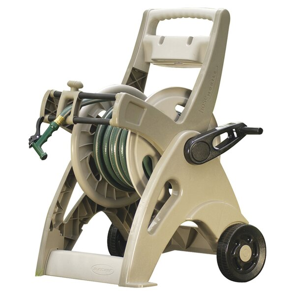 Plastic Hose Reel Cart by Suncast