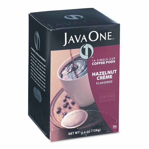 Hazelnut Cream Coffee Pods (Pack of 14) by JAVA TRADING CO.