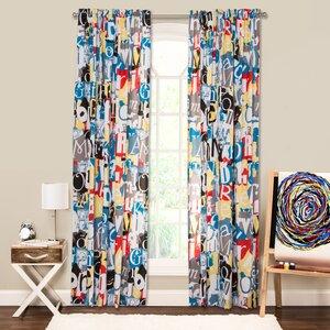 Crayola Dream On Single Curtain Panel