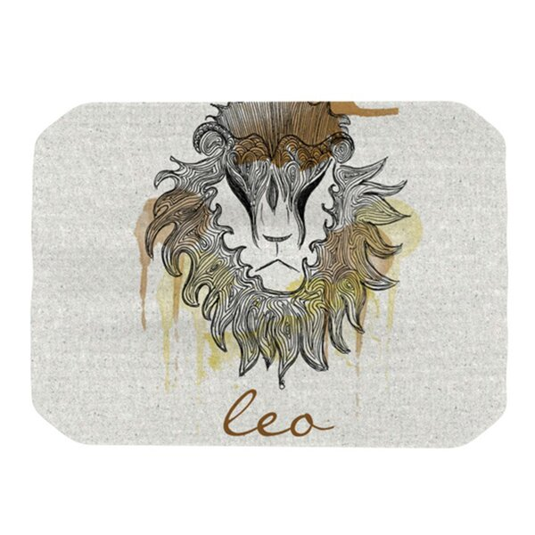 Leo Placemat by KESS InHouse