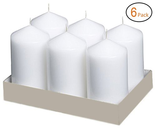 Weddings Home Decoration Unscented Pillar Candle (Set of 6) by The Holiday Aisle