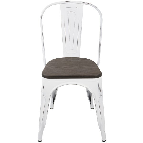Claremont Metal Slat Back Side Chair (Set Of 2) By Trent Austin Design