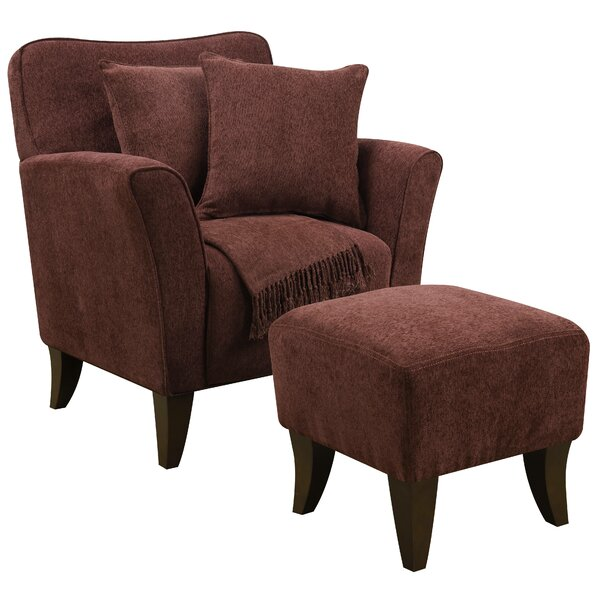 Quaker Sqaure Armchair by Darby Home Co