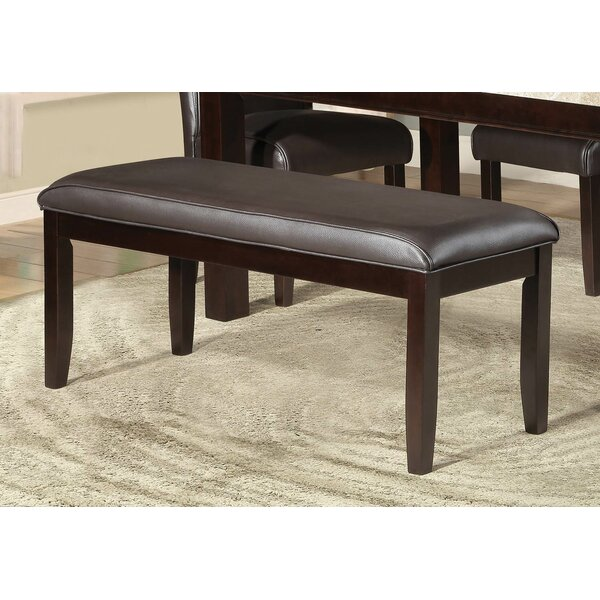 Adrian Dining Faux Leather Bench by Red Barrel Studio