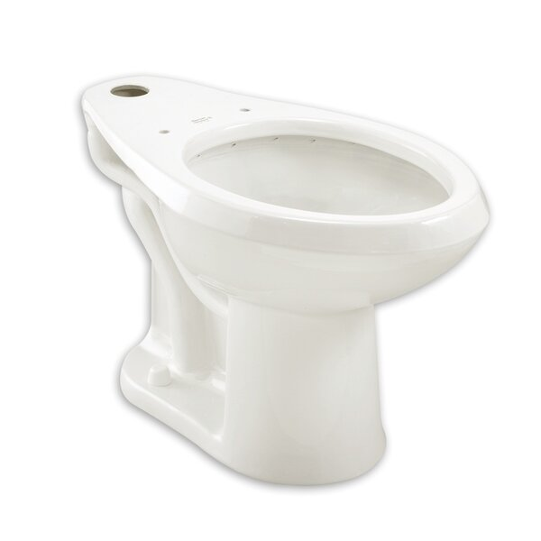 Madera Flowise High Top Spud Flush Valve Dual Flush Elongated Toilet Bowl by American Standard