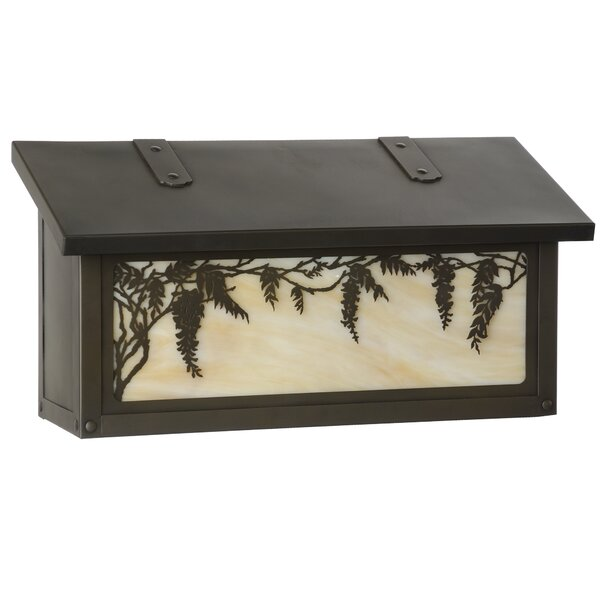 Wisteria Wall Mounted Mailbox by America's Finest Lighting Company