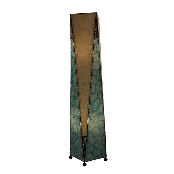 Trapezoid 48 Column Floor Lamp by Eangee Home Design