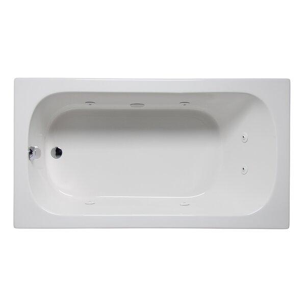 Miro 72 x 36 Drop in Whirlpool Bathtub by Americh