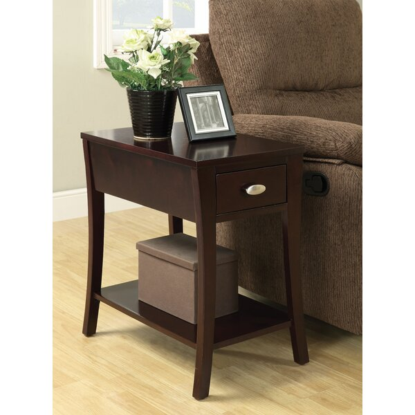 Safiya End Table by Latitude Run