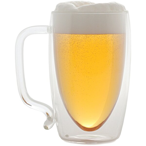 17 oz. Double-Wall Glass Beer Mug by Starfrit