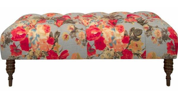 Warren Upholstered Bench by Skyline Furniture