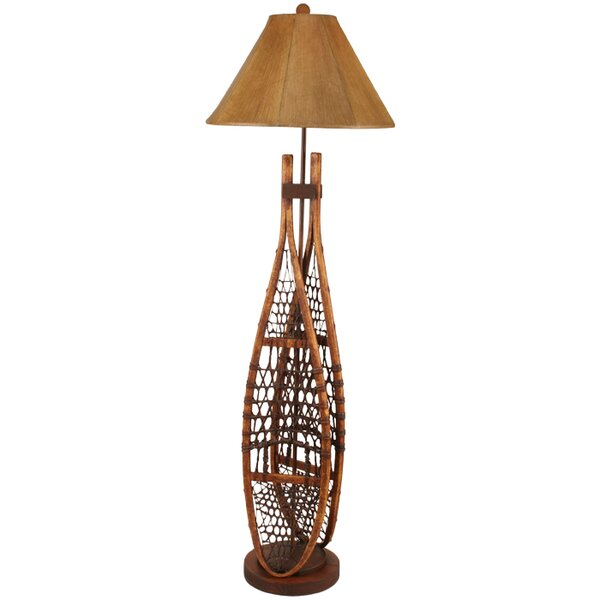 Rustic Living Snow Shoe 62 Floor Lamp by Coast Lamp Mfg.