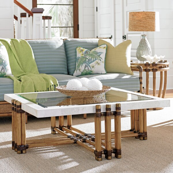 Twin Palms 2 Piece Coffee Table Set by Tommy Bahama Home Tommy Bahama Home