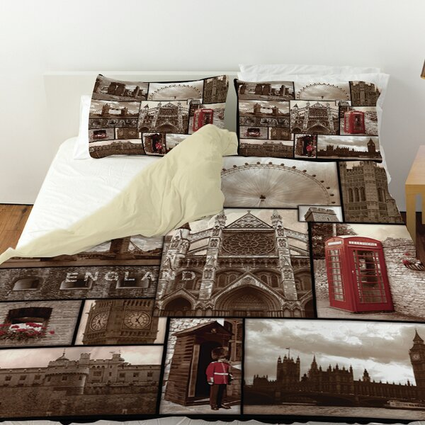 England Duvet Cover by Manual Woodworkers & Weavers