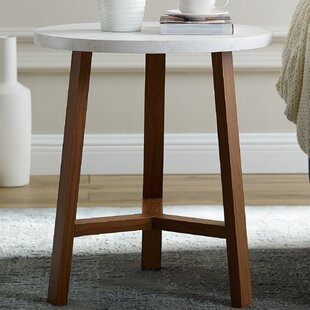 Deals Lucian Round End Table By Ebern Designs