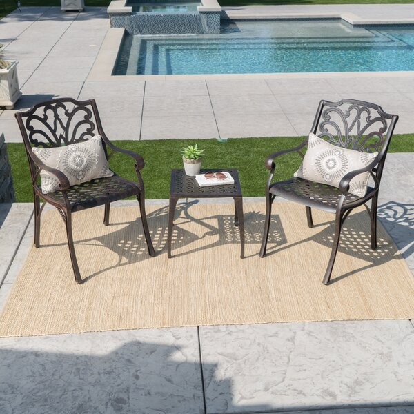 Kavanaugh 3 Piece Seating Group by Charlton Home