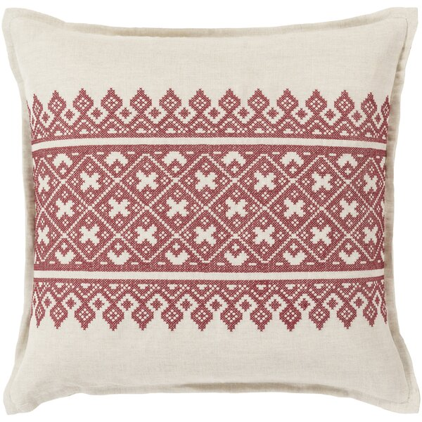 Woven Linen Throw Pillow by Birch Lane™