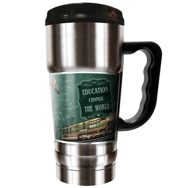 Teachers (Male) Backbone of America 20 oz. Stainless Steel Travel Tumbler by Great American Products