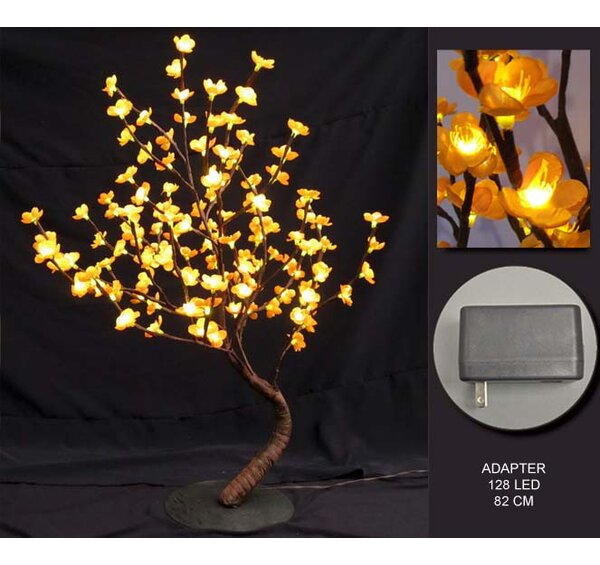 128 LED Light Bonsai Tree by The Holiday Aisle