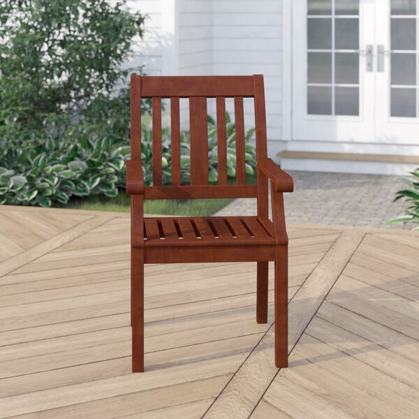 Dowling Patio Dining Chair by Three Posts