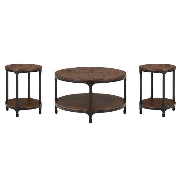 Carolyn 3 Piece Coffee Table Set by Laurel Foundry Modern Farmhouse Laurel Foundry Modern Farmhouse