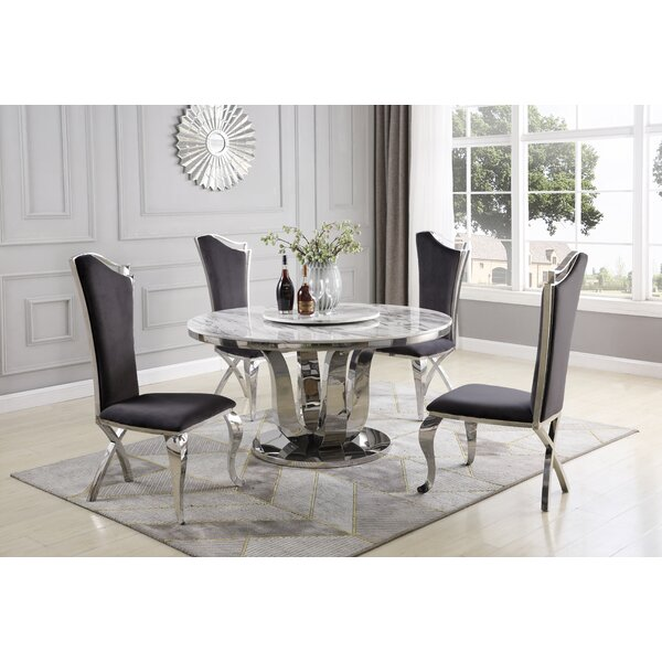 Reynold 6 Piece Dining Set by Everly Quinn
