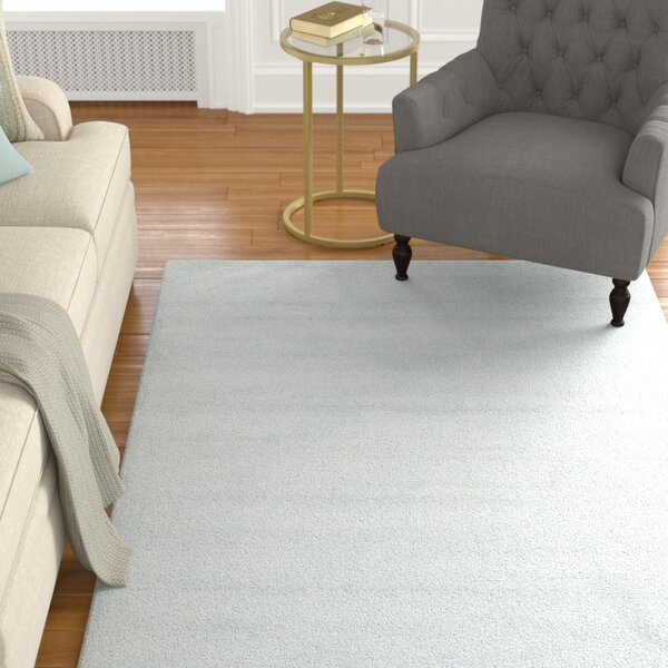 Windridge Blue Solid Area Rug by Alcott Hill