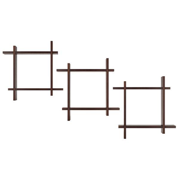 Interlocking Ledge Floating Shelf by Nielsen Bainbridge