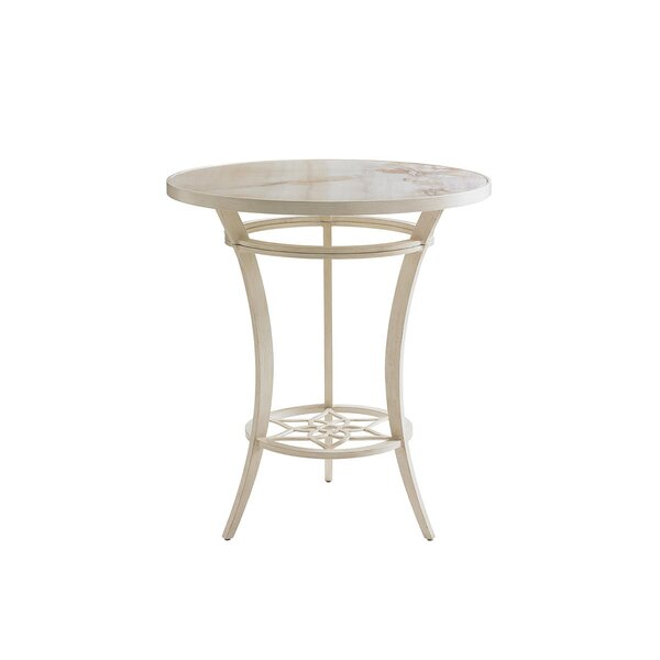 Misty Garden Aluminum Bistro Table by Tommy Bahama Outdoor