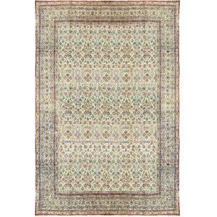 Hand Woven Wool Red Ivory Area Rug