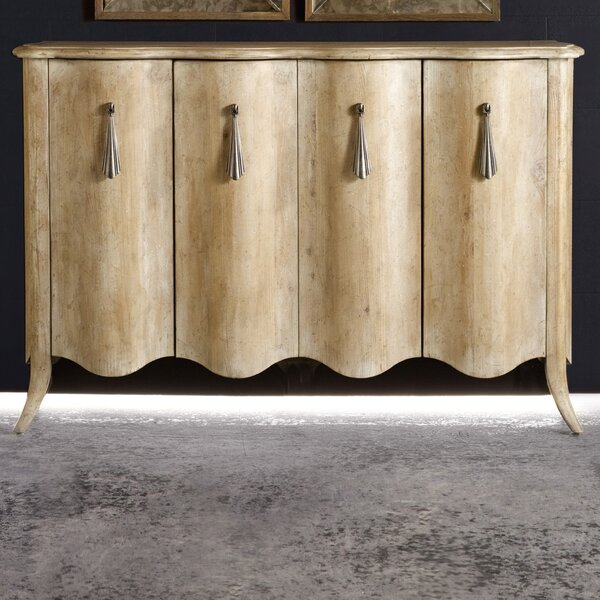 Melange Draped Sideboard by Hooker Furniture
