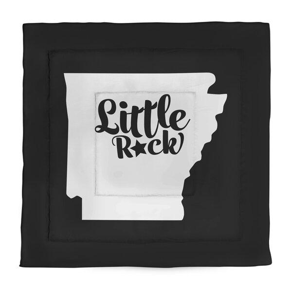 Arkansas Little Rock Single Reversible Comforter