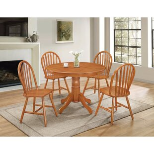 Hoisington Natural 5 Piece Dining Set By August Grove