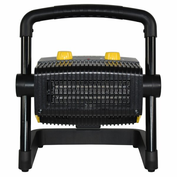 Heavy-Duty 1500 Watts Electric Forced Air Utility Heater With Adjustable Thermostat By Stanley