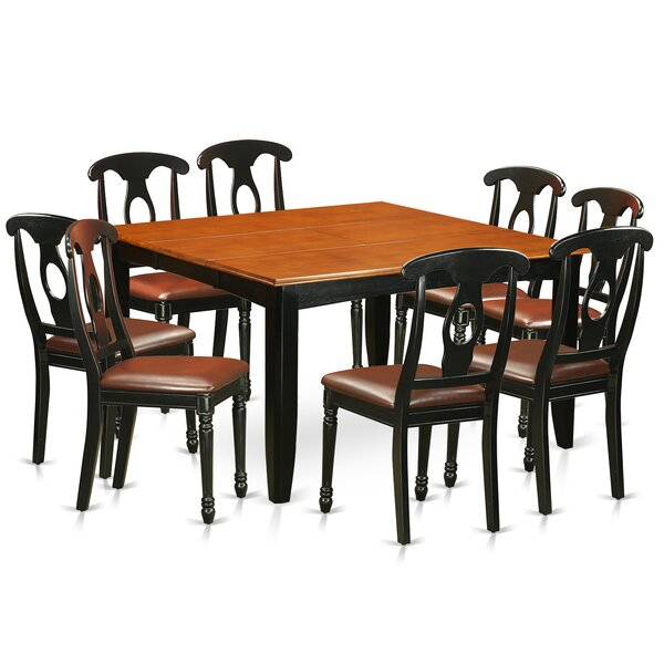 Pilning Modern 9 Piece Wood Dining Set by August Grove