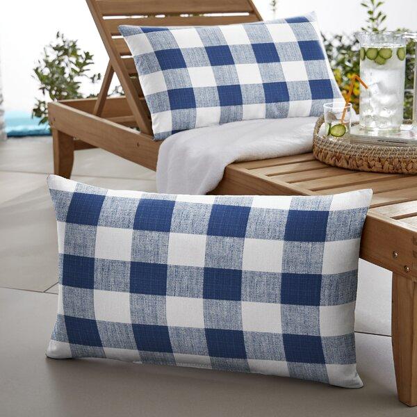 Bolding Buffalo Indoor/Outdoor Lumbar Pillow (Set of 2) by Mozaic Company