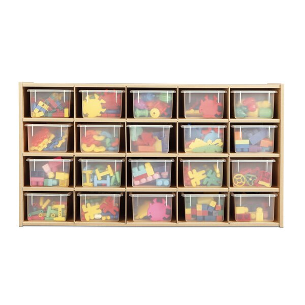 20 Compartment Cubby by Young Time
