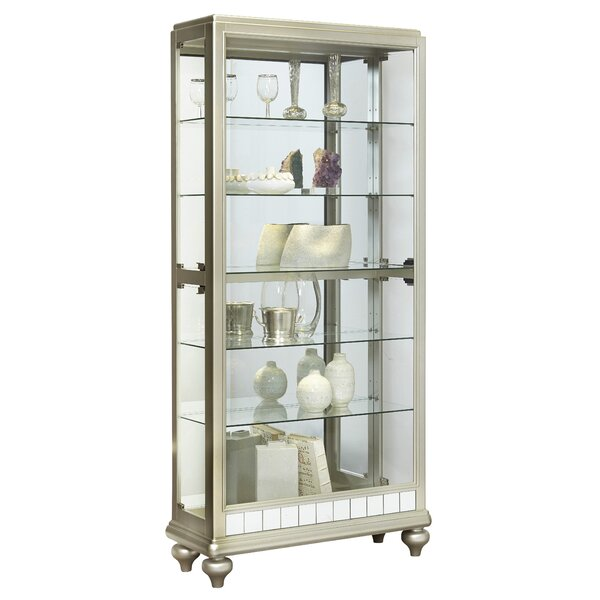 Chantemelle Curio Cabinet By House Of Hampton Comparison