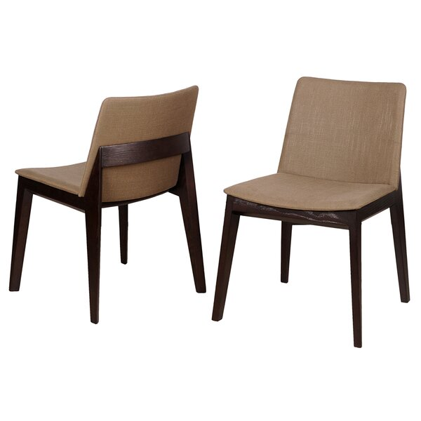 Baha Upholstered Dining Chair (Set Of 2) By Bellini Modern Living Bellini Modern Living