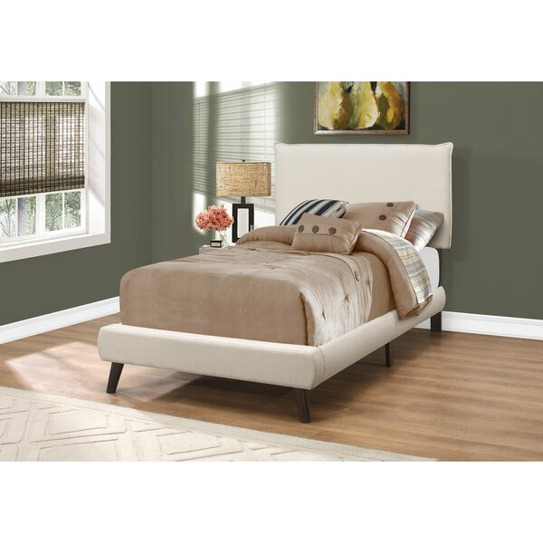 Bentonville Upholstered Panel Bed by Wrought Studio