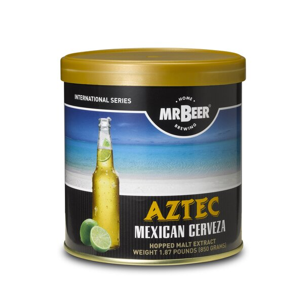Mr. Beer Aztec Mexican Cerveza Beer Making Refill Kit by Mr. Beer