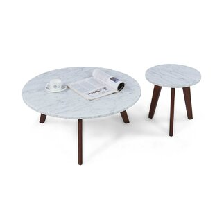 Crow 2 Piece Coffee Table Set George Oliver