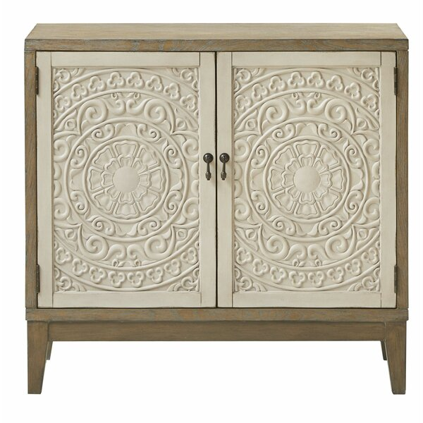 Lepe 2 Door Accent Cabinet by Bungalow Rose Bungalow Rose
