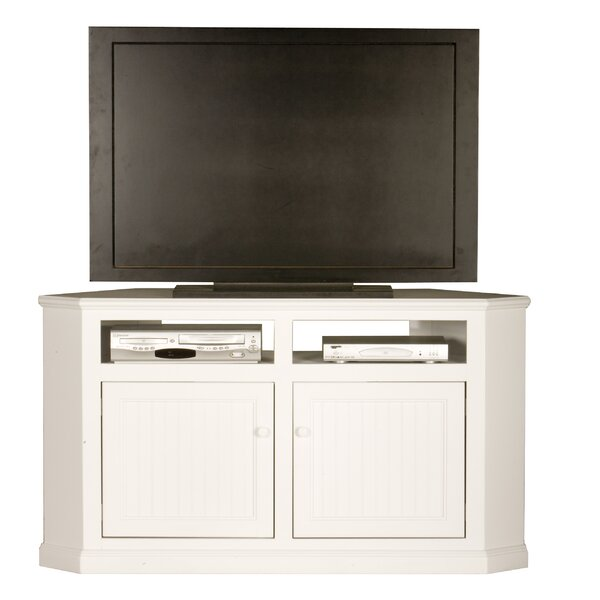 Wentzel Solid Wood Corner TV Stand For TVs Up To 60