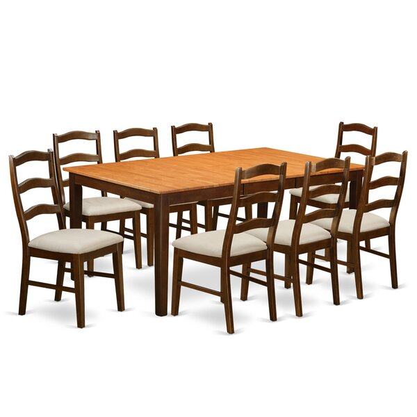 Lindstrom 9 Piece Dining Set by Red Barrel Studio