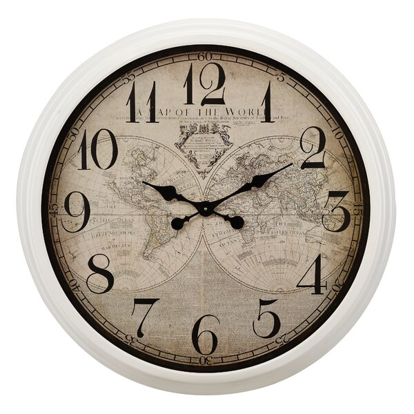 Woodstock 32.5 Wall Clock by Charlton Home
