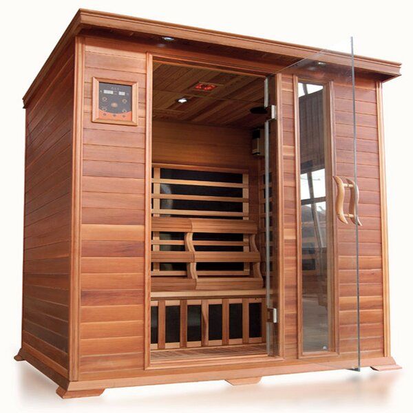 Savannah Luxury 3 Person FAR Infrared Sauna by SunRay Saunas