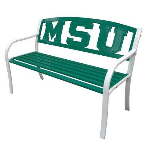 NCAA Collegiate Metal Garden Bench by Leigh Country