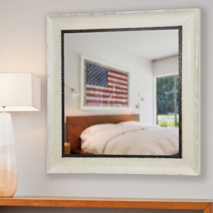 Darien Square Wall Mirror By August Grove